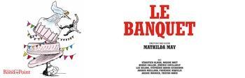 """""""Le banquet"""" de Mathilda May au théâtre du Rond-Point"""