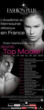 L'académie du mannequinat Fashion plus France enfin en France !