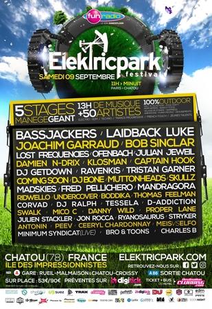 Finissez l'été en musique avec la 8ème édition de l'Inox Park devenu maintenant l'Elektric Park !