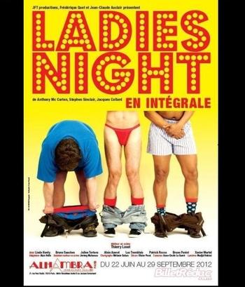 """Revivez le succès de The Full Monty avec la pièce """"Ladies Night"""" !"""