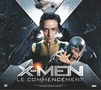 """Gagnez des DVD du film """" X-Men : Le Commencement """" !"""