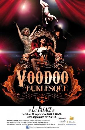 VOODOO BURLESQUE : un spectacle envoûtant et sensuel à découvrir au Palace!