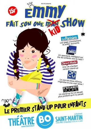Emmy fait son one kid show, un spectacle mutlivitaminé pour les enfants comme les parents