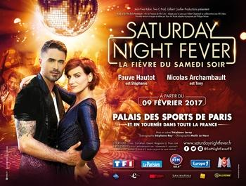 "Demandez vos invitations pour ""Saturday Night Fever"" avec Fauve Hautot et Nicolas Archambault!"