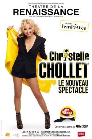 Christelle Chollet remonte sur scène avec son nouveau one man show explosif ! Comique ! Tubesque!