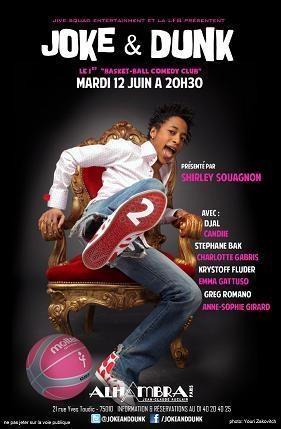 Gagnez des places pour le spectacle Joke & Dunk sur Casting.fr