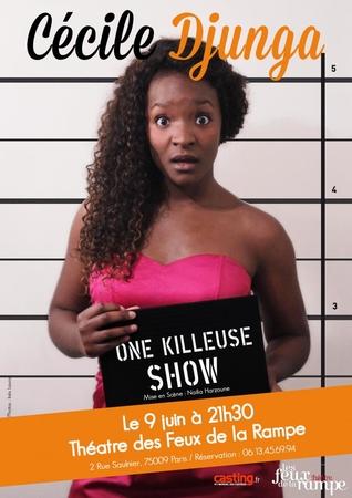 """""""One Killeuse Show"""" de Cécile Djunga aux Feux de la Rampe"""