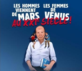 """""""Les hommes viennent de Mars et les femmes de Vénus"""" au théâtre de la Renaissance. Casting.fr vous offre vos places"""