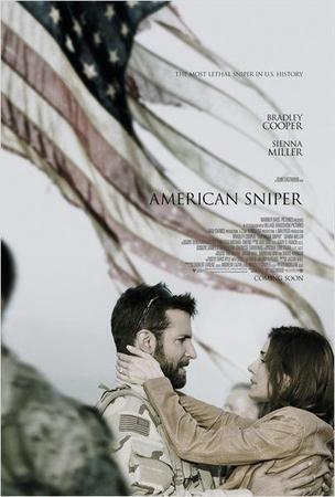Clint Eastwood et Bradley Cooper deux pointures du cinéma Américain réunis pour le film: American Sniper