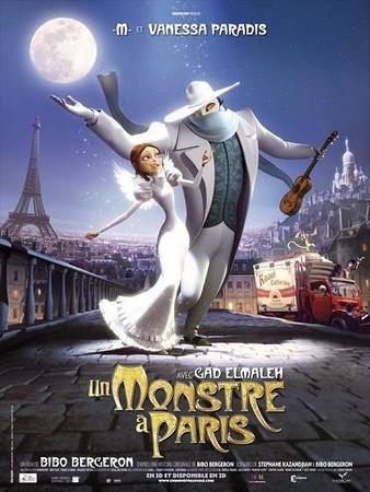 Gagnez vos places pour le film Un Monstre à Paris !