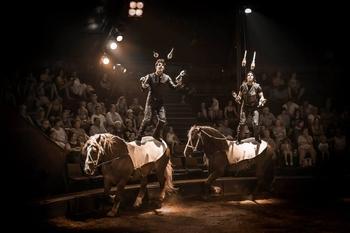 Alexandre et Charles Gruss, jumeaux talentueux, sont la relève de la nouvelle génération du monde du cirque !