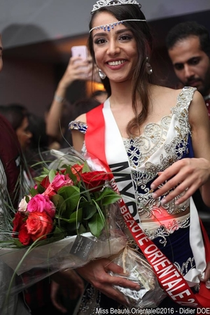 Myriam, une artiste de Casting.fr qui devient la nouvelle Miss Beauté Orientale 2016