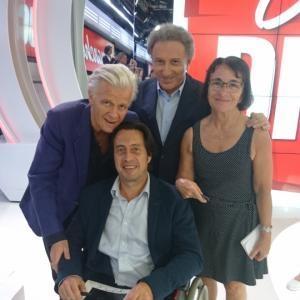 Michèle Félicio a assisté, grâce à casting.fr, au tournage de l'émission de Michel Drucker