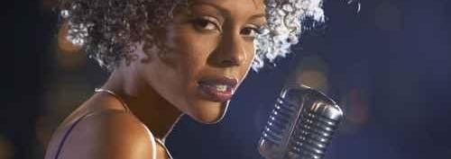 Clip chanteuse