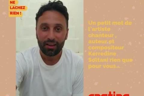 Un petit mot de la part de l'artiste Kerredine Soltani pour les membres de casting.fr