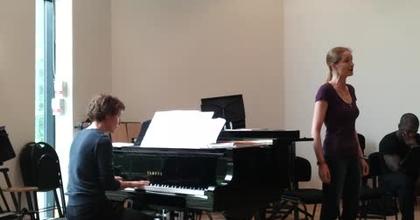 Nathalie Rippert sings Schubert : « Heidenröslein » (Schubert - Goethe)
