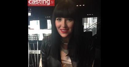 La chanteuse Tara Mcdonald encourage tous les membres de casting.fr
