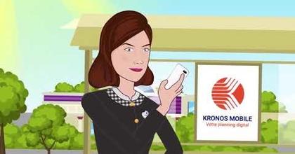 Voix off - Vidéo Kronos Mobile pour Disneyland Paris
