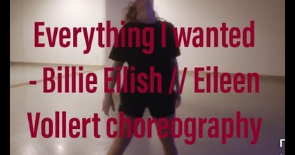 Billie Eilish - everything I wanted // Eileen Vollert Choreography