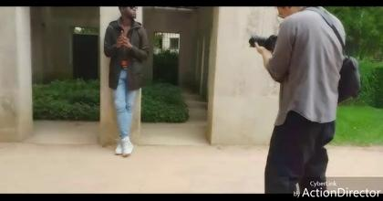 Hamed Meite Top Model SHOOTING TIME FIRE