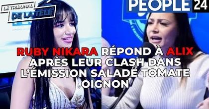 Ruby Nikara répond à Alix Dmx après leur clash dans l'émission Salade Tomate Oignon