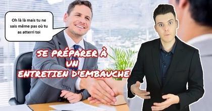 SE PRÉPARER À UN ENTRETIEN D'EMBAUCHE - PIERRE