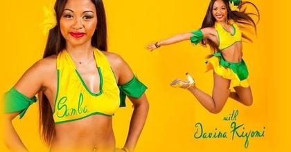 Cours de Samba brésilienne gratuit avec Davina Kiyomi
