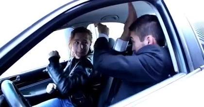 Fight scene Transporteur