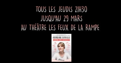 "Extrait spectacle ""Amandine Bataille, comme une bataille !"""