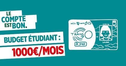 Budget étudiant : comment bien vivre avec 1000€/mois ? #LeCompteEstBon | Crédit Agricole