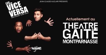 Vice Versa à la Gaité Montparnasse pour le spectacle Imagine