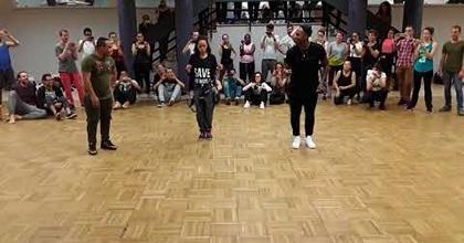 Dayeline Argota, Yoannis Tamayo coreografia Yoandy Villarutia