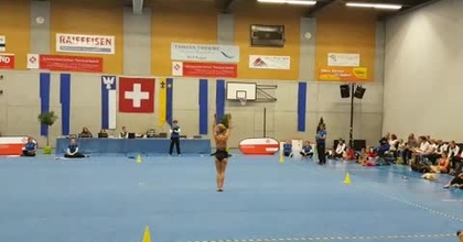 Finale championnat de Suisse de gymnastique et danse