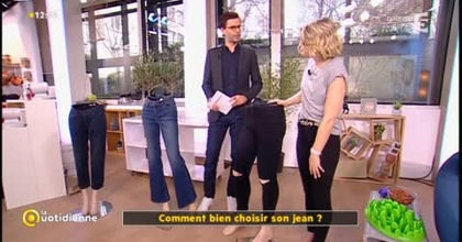 """Laurine Fertat Peronal Shopper et chroniqueuse dans l'émission """"La quotidienne"""" sur France 5"""