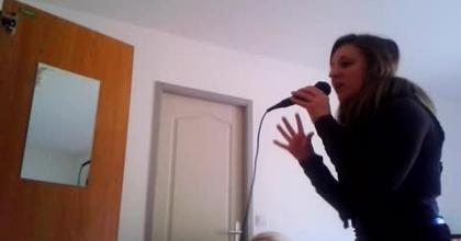 moi qui interprète Céline Dion