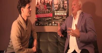 Interview Éric-Emmanuel Schmitt