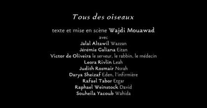 """Bande Annonce """"Tous des Oiseaux"""""""
