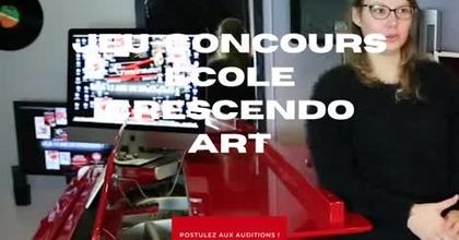 Auditions ouvertes : l'école de Musique Crescendo Art est en partenariat avec Casting.fr pour un spe
