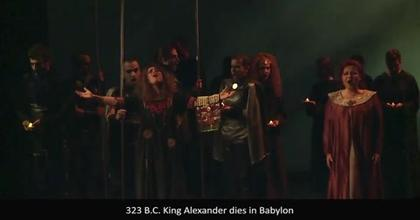 Alexander The Great.  Rock Opera