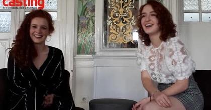 Interview Camille et Julie Berthollet pour casting.fr