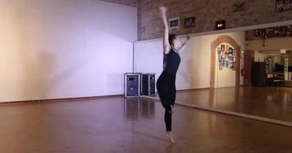 Danse Jazz création personnelle.