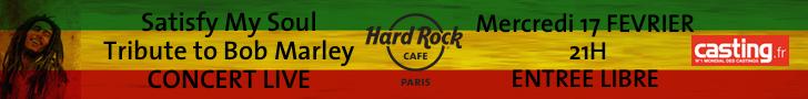 Bannière Bob Marley
