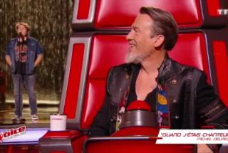 Bulle, un grand moment d'émotion sur le plateau de The Voice 6