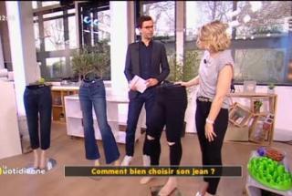 Laurine Fertat Peronal Shopper et chroniqueuse dans l'émission